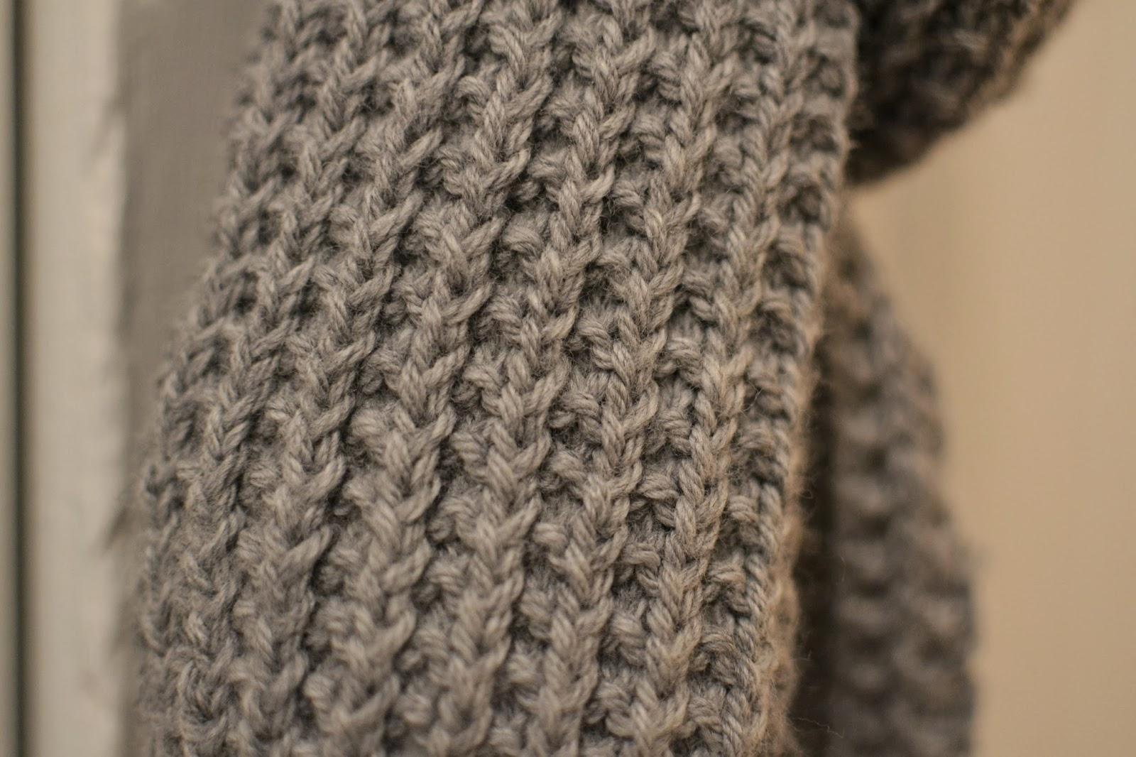 tricoter 2 mailles envers dans 1 maille