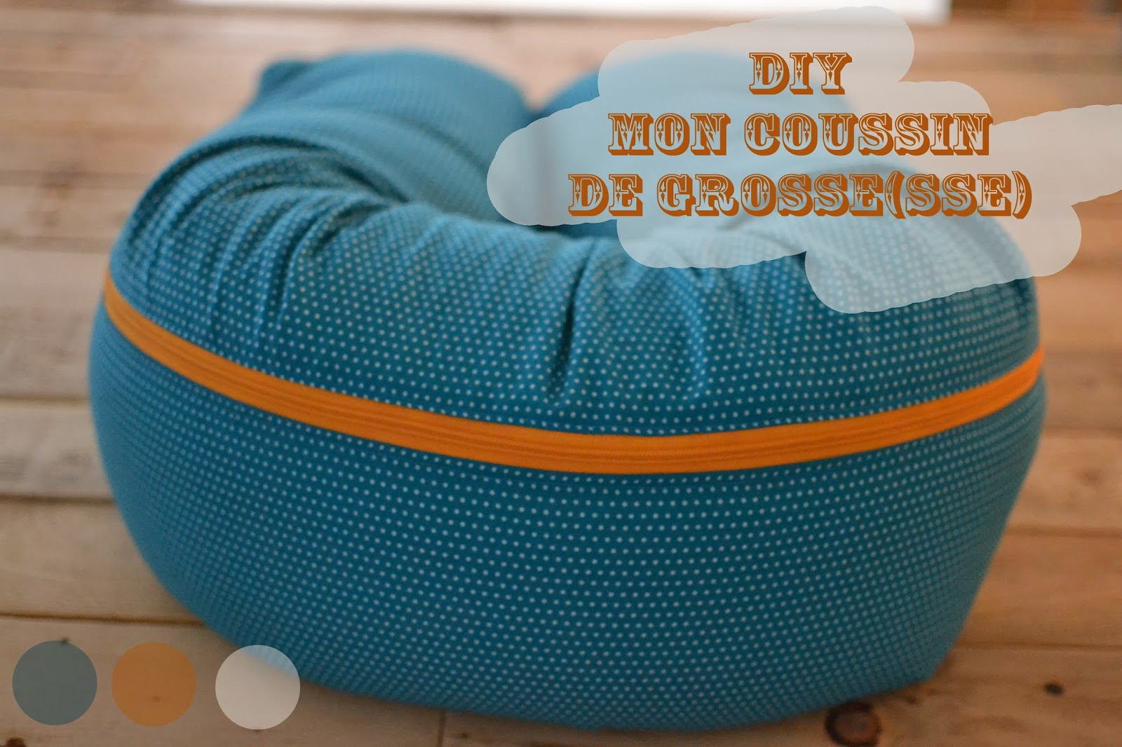 Super DIY Coussin de grosse(sse) – HOMEMADE PERRINPIMPIM FV94