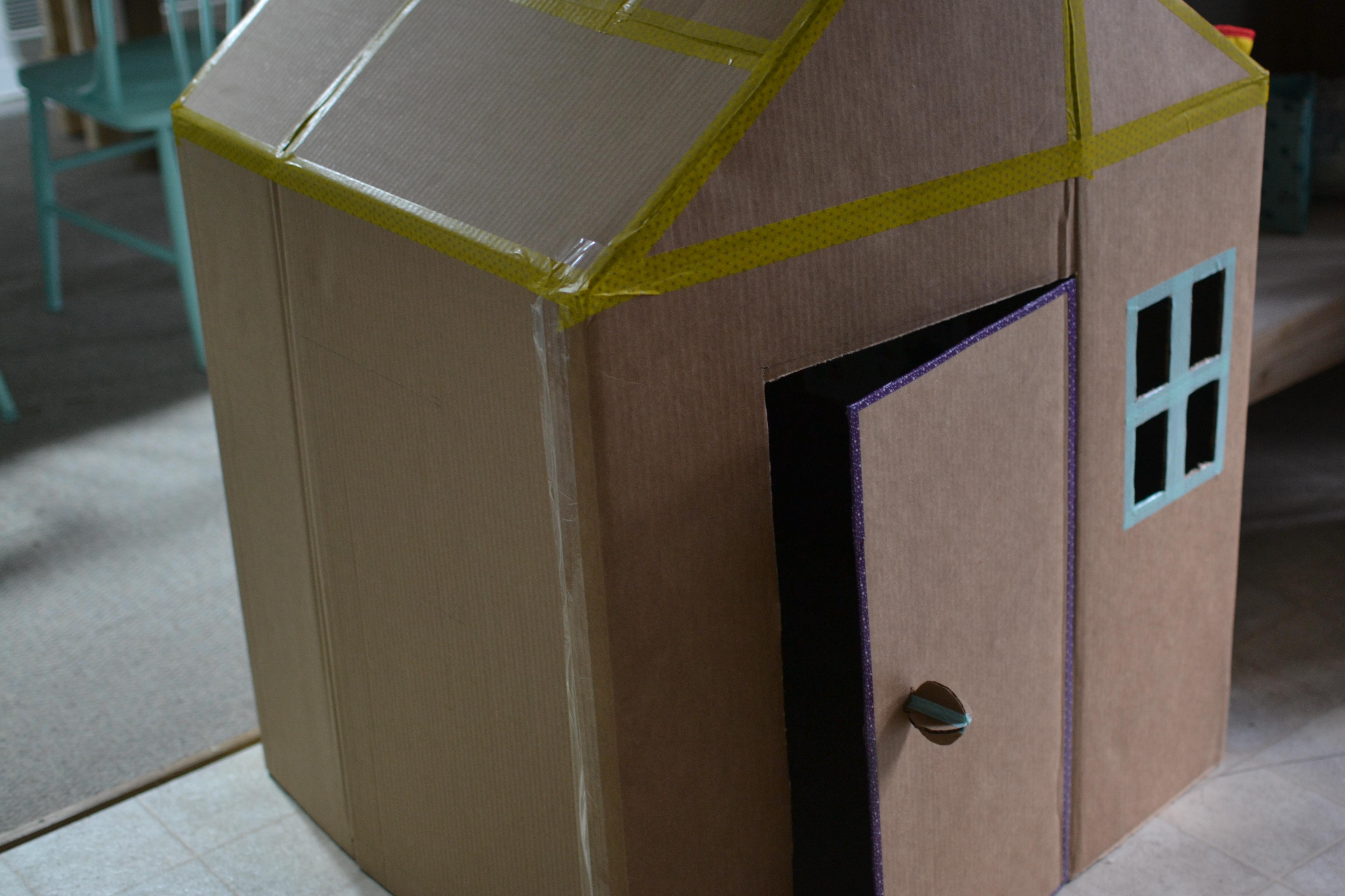 Cabane En Carton Diy diy la cabane des tout-petits – homemade perrinpimpim